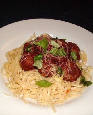 Quorn Meatballs and Linguine