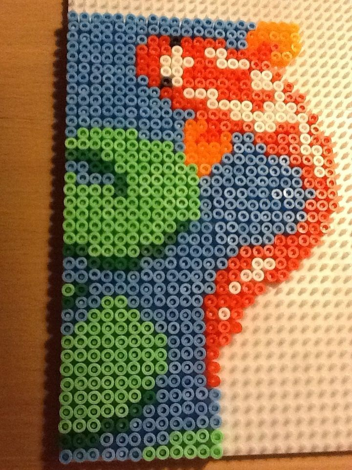 406 best images about perler bead patterns for boys on for Koi fish beads