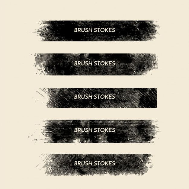 Download Grunge Brush Strokes Collection For Free Brush Strokes