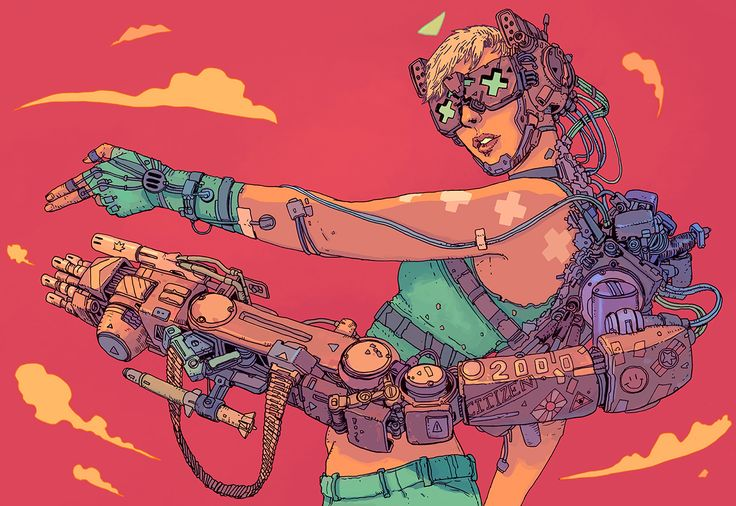 Josan Gonzalez's future is the kind of dystopia you want to hang out in.  The Spanish illustrator is currently in the midst of crowdfunding a second book in his series, The Future is Now, and it's...