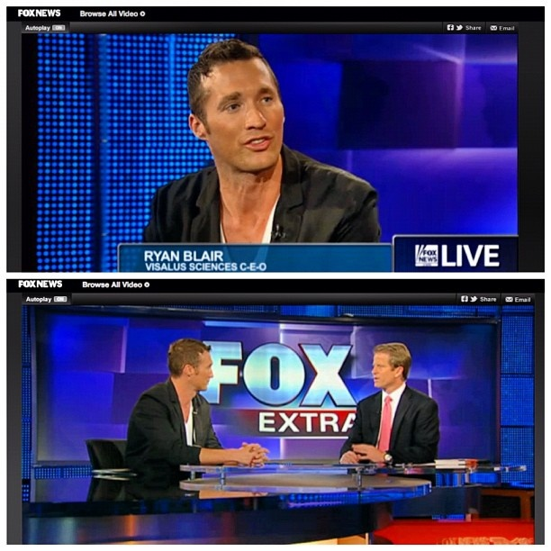 Did you catch our #CEO #RyanBlair on #FoxNews?! See the full interview on #FoxNews! #Vilife #Visalus #health #fitness