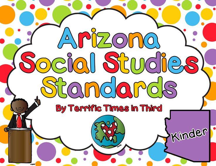 f613c65df7b23b00d0e65fac31ad5116  teachers pay teachers the arizona - Kindergarten Social Studies Standards