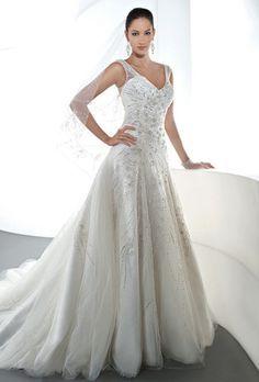Demetrios 'Ilissa 543' size 14 new wedding dress - Nearly Newlywed