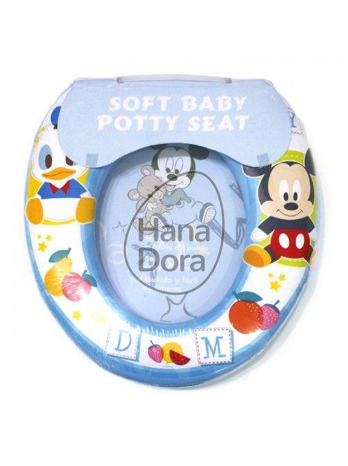 SOFT BABY POTTY SEAT - MICKEY http://www.hanadora.com/bath-babycare/soft-baby-potty-seat-mickey.html