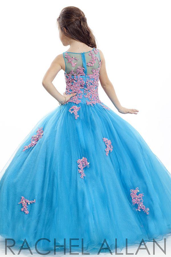 Rachel Allan Perfect Angel 1571 | Pageant Dress For Girls | Girls Pageant Dress