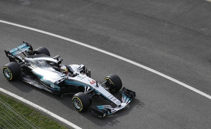 F1, ecco la nuova Mercedes da battere: già in pista con Hamilton