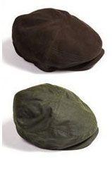 Klassiske kasketter i molskin og oliskin - brun og grøn i 3 størrelser S, M og L #caps #kasket #oilskin #molskind #arbejdstøj #tibberuphoekeren #hoekeren