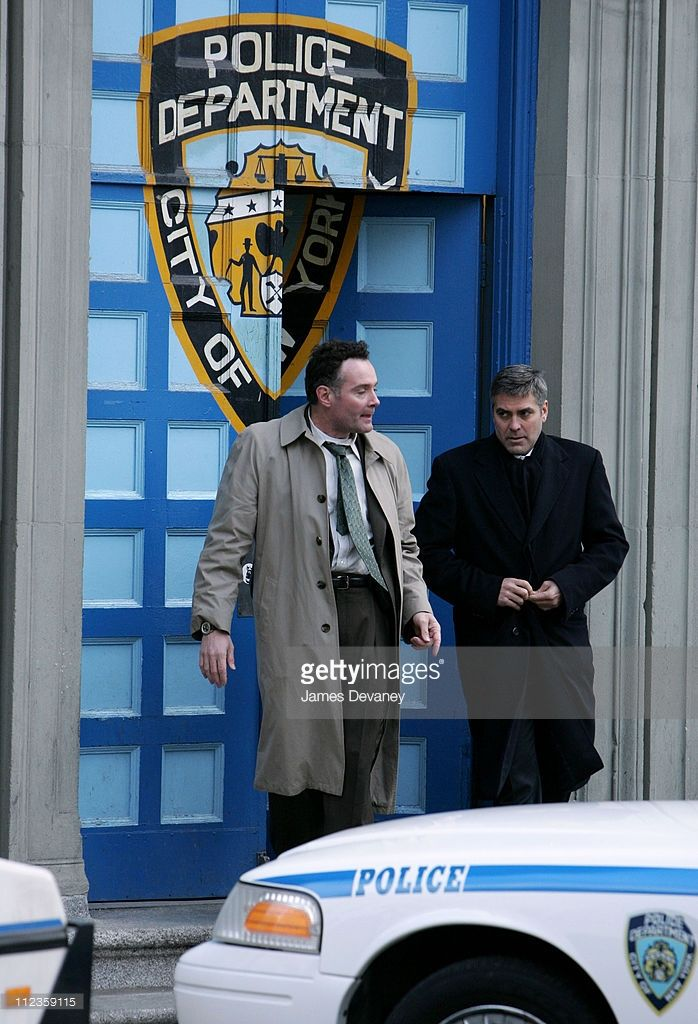 George Clooney during George Clooney on Location for 'Michael Clayton' - March 22, 2006 at Tribeca in New York City, New York, United States.