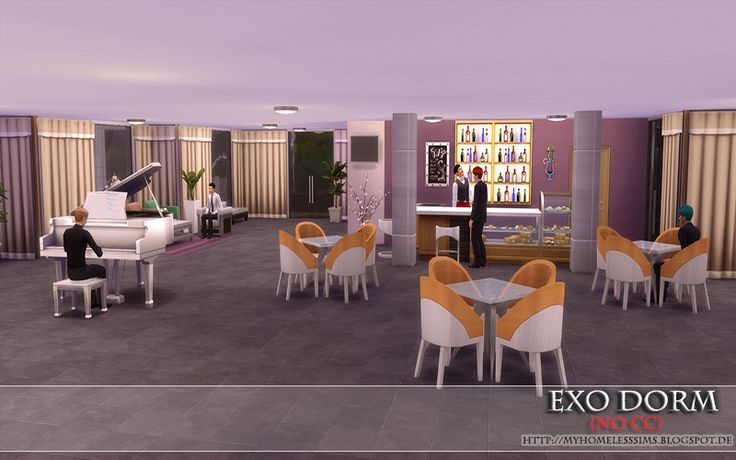 """from the house """"EXO Dorm (No CC)"""""""