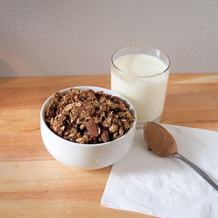 Maple Almond Butter Granola