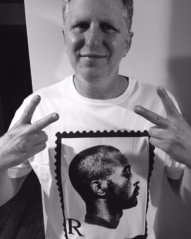S/O Actor, Director & #HipHop Head Michael Rapaport reppin get the R stamp Tee. Http://madina.co.uk