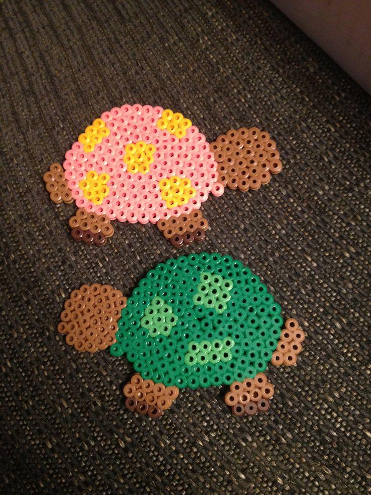 Turtles hama perler beads