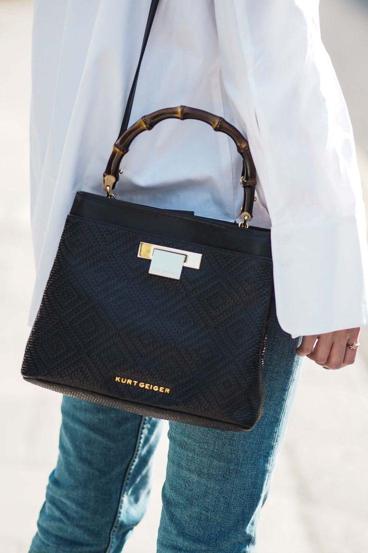 Kurt Geiger Woven 'Kate' Bag