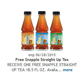 FREE Kroger Friday Download! Get a FREE Snapple Straight Up Tea!  Click the link below to get all of the details ► http://www.thecouponingcouple.com/free-snapple-straight-up-tea-for-kroger-free-friday/  #Coupons #Couponing #CouponCommunity  Visit us at http://www.thecouponingcouple.com for more great posts!