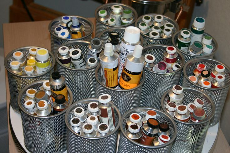 how do you store your paint tubes? - Page 2 - WetCanvas