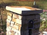 Building a Stone Mailbox : How-To : DIY Network