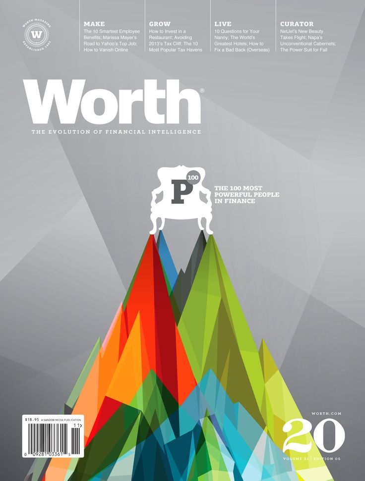 magazinewall:  Worth (New York, NY, USA)