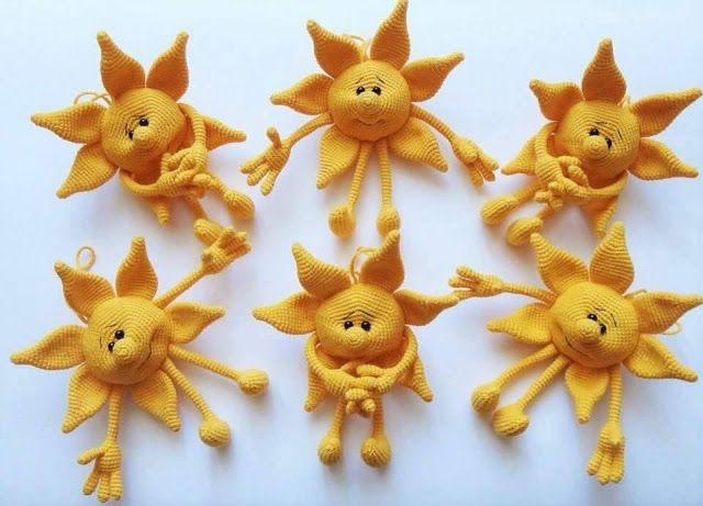 PARANOYAK SATIRLAR: Little Mister Sun Free Amigurumi Pattern / Küçük Güneş …