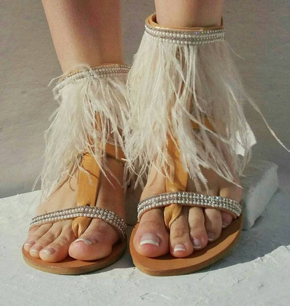 20% OFF Bridal sandals Irida  luxurious by PenelopesSandals
