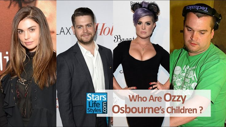 Who Are Ozzy Osbourne's Children ? [3 Daughters And 3 Sons] | Black Sabb...