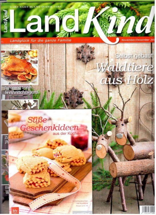 Landglück für die ganze Familie!Rausgehen, die Natur gemeinsam mit den Kindern erleben und sich die Jahreszeiten in all ihren Facetten bewusst machen - freuen Sie sich darauf, diese wunderbaren Momente in unserem neuen Magazin LandKind mit der  ...