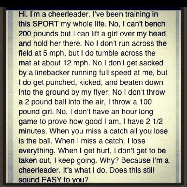 All star cheerleading quotes and sayings