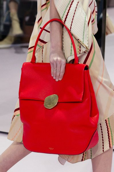 c0dab68f33a0 Mulberry at London Fashion Week Spring 2018 - Livingly