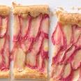 rhubarb tart: Desserts Recipes, Easter Recipes, Rhubarb Recipes, Sweet, Food, Orange Glaze, Glaze Recipes, Rhubarb Tarts, Tarts Recipes