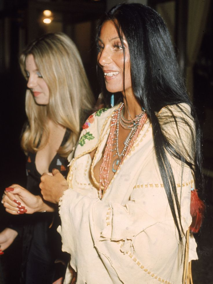 """Cher 1970's """"I trust my friends. They force me to examine myself and encourage me to grow"""" –Cher"""
