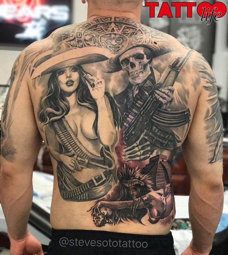 Work by @stevesototattoo  Goodfellas Tattoo, USA #tattoo #tattoolife #tattoolifegallery #tattoolifemagazine