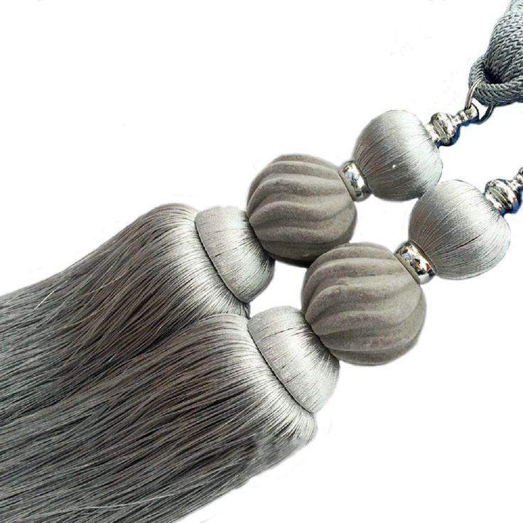 1 PAIR Classical style Large Tassel Curtain Tiebacks Holdbacks for Window Home Decoration Grey * You can find out more details at the link of the image. (This is an affiliate link and I receive a commission for the sales)