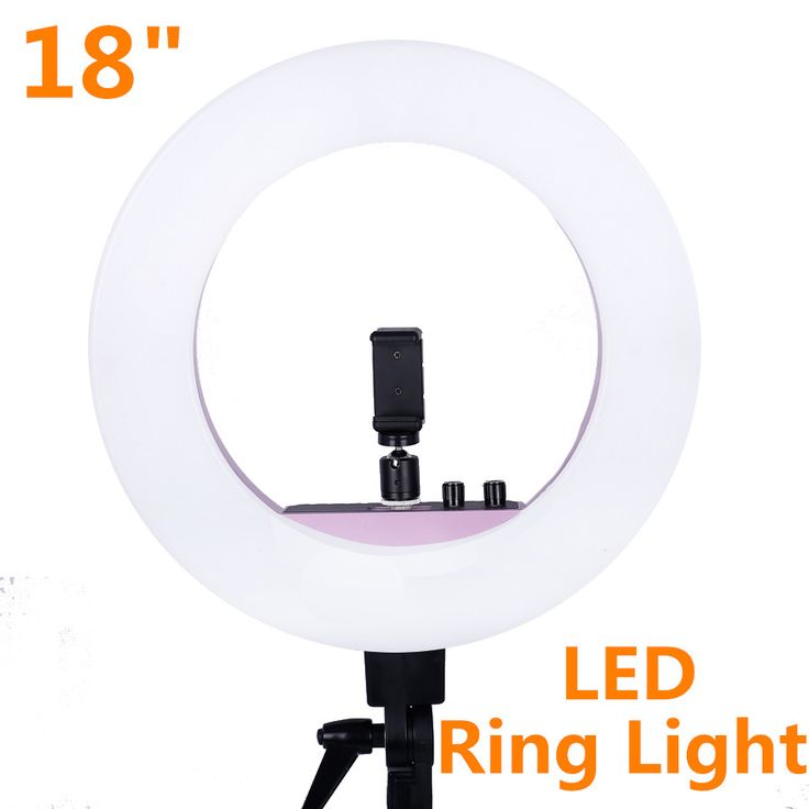 INNO 18 Inch 5500k 48w LED Ring Light Photography Dimmable Ring Lamp for Camera Photo/ Makeup & Beauty/Video #Affiliate