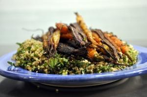 Spiced Quinoia Salad