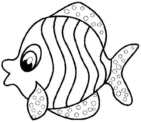 Simple Fish Drawing Clipartsco – simple fish coloring pages