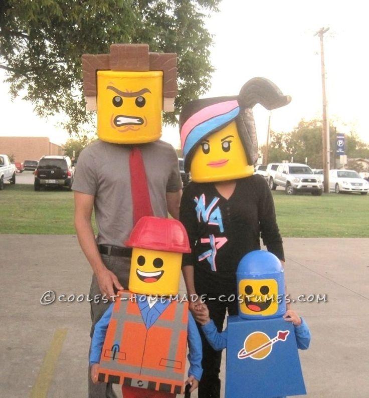 Amazing Family Themed Lego Movie Costumes! - 1