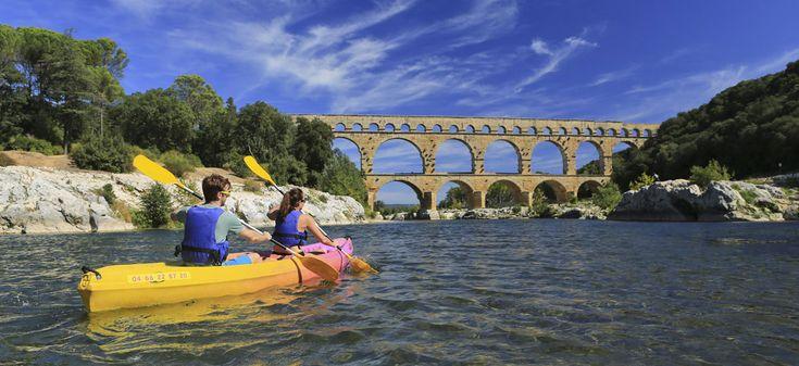 Descente Collias - Pont du Gard