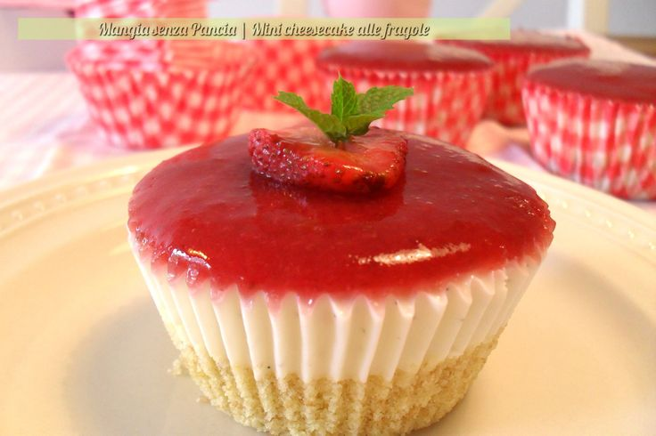 Mini cheesecake light, ricetta passo passo