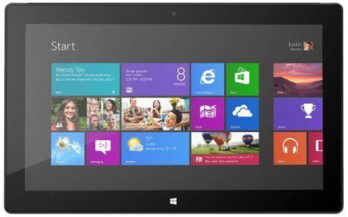 Microsoft Surface Pro 1 Tablet (128 GB Hard Drive, 4 GB RAM, Dual-Core i5, Windows 8 Pro) – Dark Titanium (Certified Refurbished)