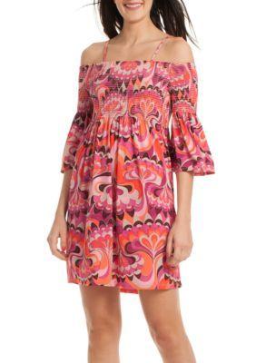 Trina Trina Turk Women's Ventana Dress - Multi - Xs