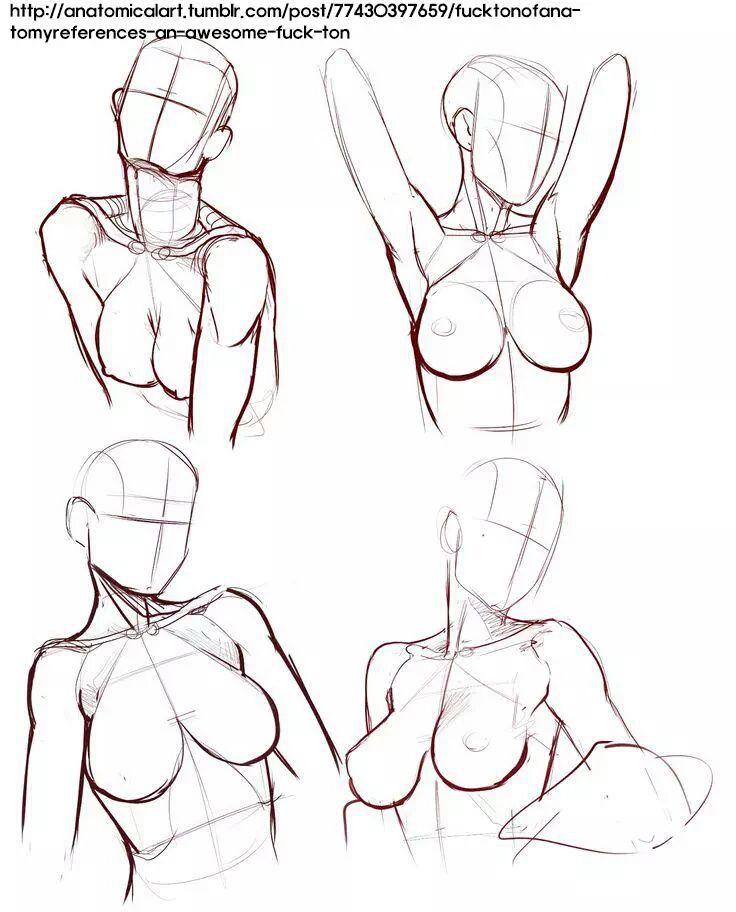 그림자료 - 여자 몸 구조,여러가지 자세,구도 : 네이버 블로그