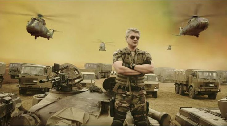 Vivegam Official Trailer Released – Ajith Running About, Flexing His Muscles and Shooting Bullets