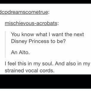Ahem Idina menzel is an alto but they had her leave her comfort zone for frozen