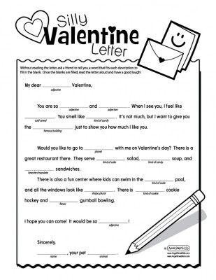 Valentine's Day - Mad Libs