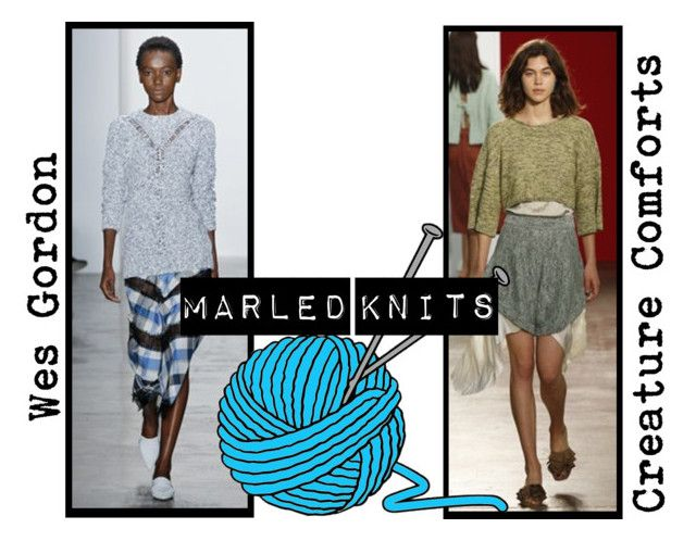 Spring/Summer 2016 Trend; Marled Knits by kimearls on Polyvore