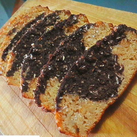WEBSTA @ jeelinbfit - BIZCOCHO DE AVENA Y PROTEINA MARMOLADOExcelente para desayunar o post entreno💪💪💪💪Que use : 👉👉👉1/2 TZ  de avena en hojuelas3 cdas de proteina de fresa o vainilla1 crda de proteina de chocolate 1/2crdta de cacao 1 clara1 huevo 100 ml de leche 0% o vegetal 1crdta de vainilla1cucharada edulcorante1/2 crdta de polvo de hornear Como lo hice:1.Mezclar todos los ingredientes menos el cacao y la proteina de chocolate reservar 1/4 de tz de la mezcla y a esta le agregamos…
