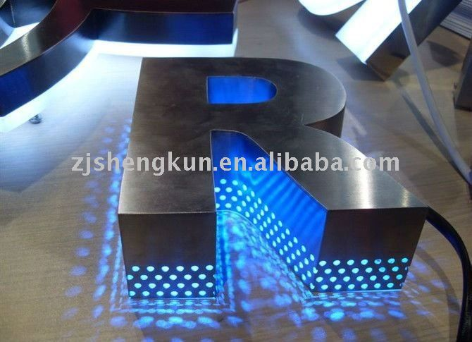 stainless steel backlit letters - Google Search