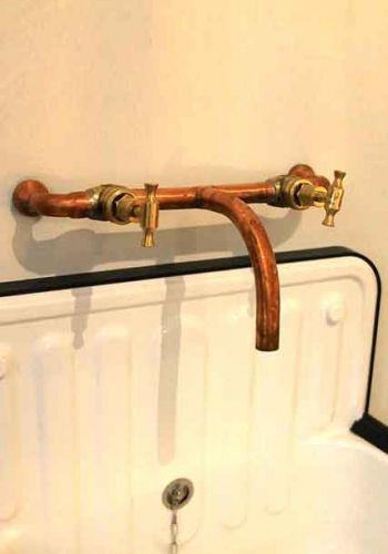 Indoor copper taps #tapware #taps #coppertaps