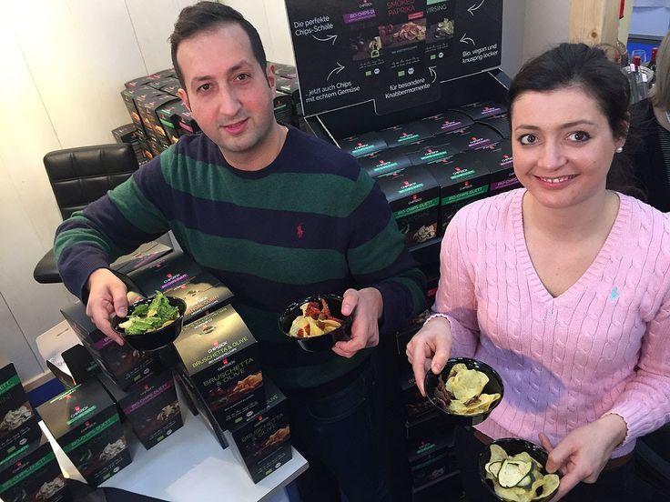 """Food & Life 2015: """"myChipsBox""""  Gemüsechips in Halle C3, Stand 451"""