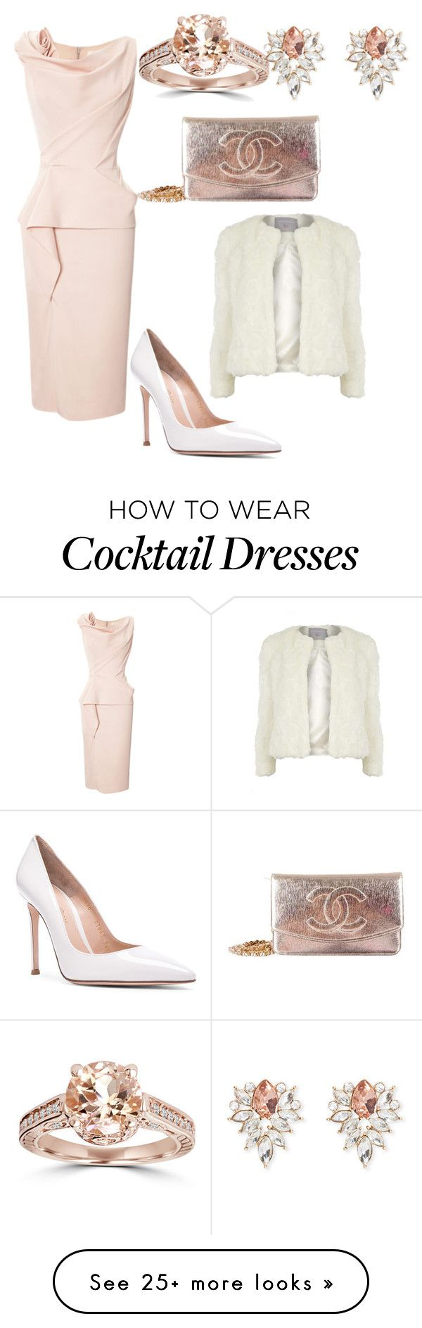 """Delicate or Innocent"" by julia-ismerim on Polyvore featuring Marchesa, Gianvito Rossi, Chanel, Forever 21 and Dorothy Perkins"