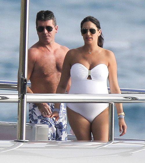 Simon Cowell & Lauren Silverman: Bump On Board